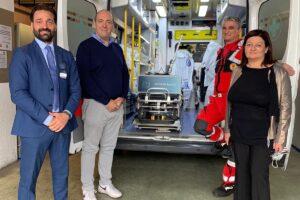 Consegnato il sanificatore alla Croce Rossa Monza
